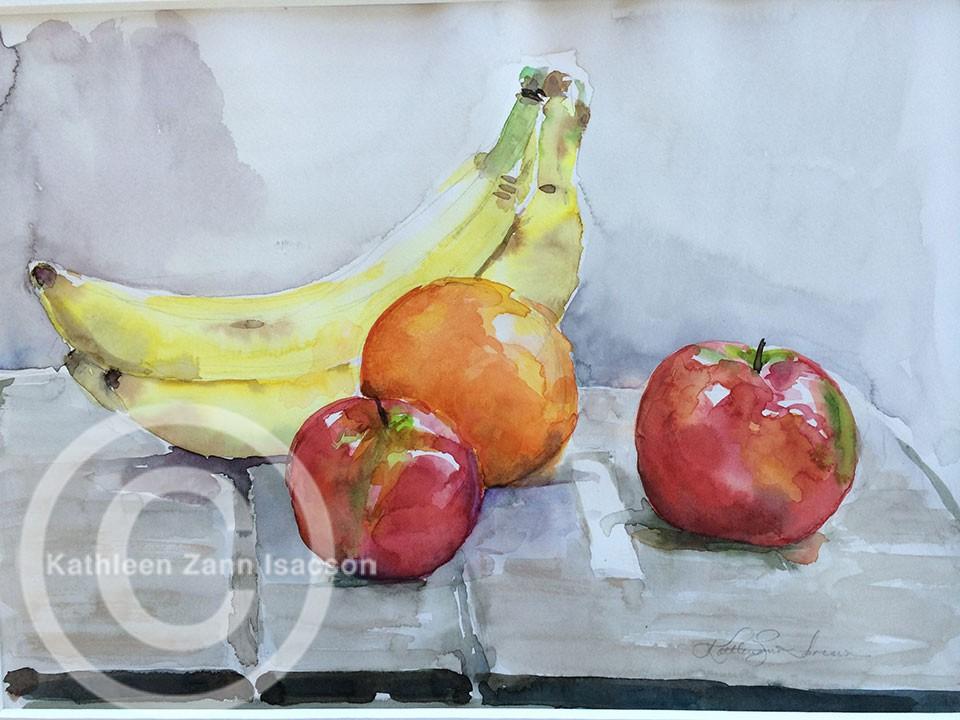 Apples, Orange and Bananas