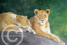 Lionesses (Before the Hunt)